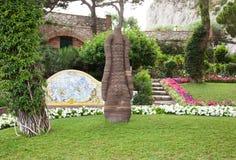 Garden of Augustus Capri, Italy Stock Image
