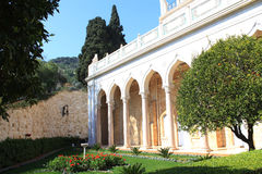 The Garden of Bahai Temple Royalty Free Stock Images