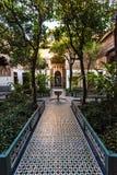 Garden of Bahia Palace in Marrakesh,Morocco.  Royalty Free Stock Image