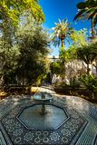 Garden of Bahia Palace in Marrakesh,Morocco.  Stock Images