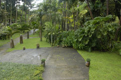 Garden of Balata Stock Photography