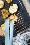 Garden barbecue Stock Photos