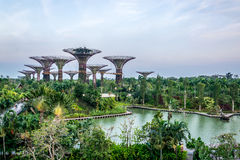 Garden by the Bay. Attraction Royalty Free Stock Photography