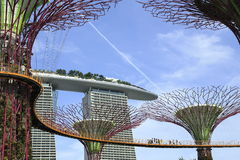 Garden by the Bay Daytime Royalty Free Stock Photos