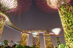 Garden by the bay Stock Photography