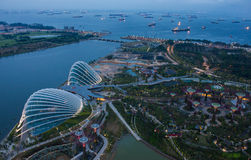 Garden by the Bay, Singapore. Royalty Free Stock Image