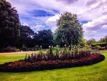 Garden. Beautiful garden in London park Stock Photo