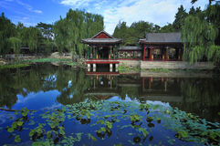 Garden  in Beijing  Summer palace Royalty Free Stock Photo