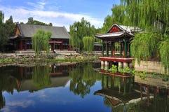 Garden  in Beijing  Summer palace Stock Photos