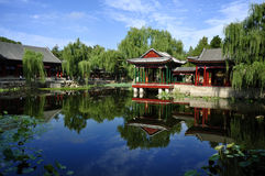 Garden  in Beijing  Summer palace Stock Image