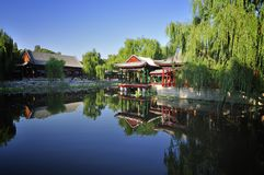 Garden  in Beijing  Summer palace Royalty Free Stock Photography