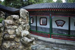 Garden  in Beijing  Summer palace Royalty Free Stock Images