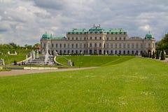 Garden of Belvedere Palace in Vienna, Austria Stock Photos