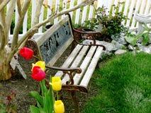 Garden Bench Stock Photos