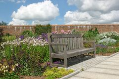 The Garden Bench Royalty Free Stock Photo