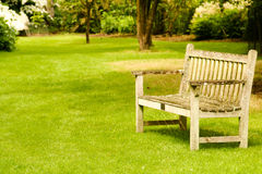 Garden Bench Royalty Free Stock Photos