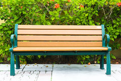 Garden Bench Royalty Free Stock Image