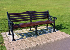 Garden bench. Royalty Free Stock Photo