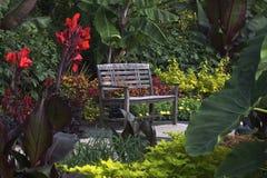 Garden bench Stock Photography