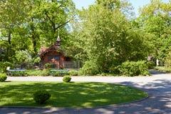 Garden in Berlin Zoo. Berlin, Germany - 28 May, 2014: Garden in Berlin Zoo Stock Photos