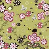 Garden bird design Stock Photo