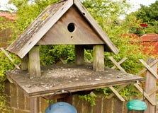 Garden bird table Royalty Free Stock Photos