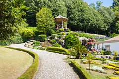 Garden at Bom Jesus Royalty Free Stock Photography
