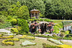 Garden at Bom Jesus Stock Image