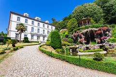 Garden at Bom Jesus Stock Photos