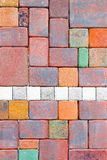 Garden bricks Royalty Free Stock Photo
