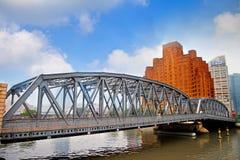 Garden bridge. The Garden Bridge in Shanghai, China Royalty Free Stock Photography