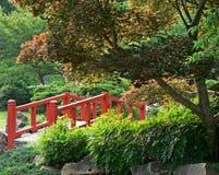 Garden Bridge Royalty Free Stock Photography