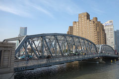 Garden bridge of Shanghai Royalty Free Stock Images