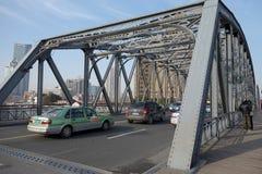 Garden bridge of Shanghai Royalty Free Stock Image
