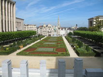 Garden in bruxelles Royalty Free Stock Photo