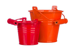 Garden bucket Stock Photography