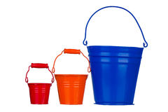 Garden bucket Royalty Free Stock Images