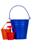 Garden bucket Royalty Free Stock Photo