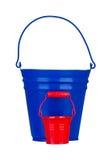 Garden bucket Royalty Free Stock Images