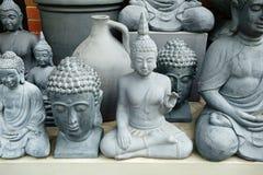 Garden Buddhas Stock Photography