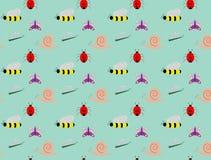 Garden bugs Stock Image