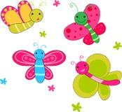 Garden butterflies Stock Image