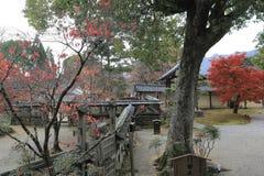 Garden of Byodo-in Temple in Kyoto, Japan Stock Image