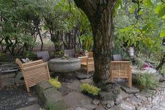 Garden café Royalty Free Stock Image