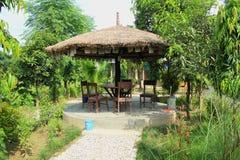 Garden Cafe. stock photos
