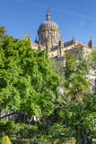 Garden of Calisto and Melibea near to the cathedrals. Royalty Free Stock Photography