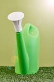 Garden Care. A studio photo of a garden equipment of artificial turf Royalty Free Stock Photos