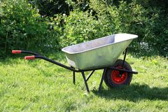 Garden cart Royalty Free Stock Photo