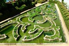 Garden, Castelo Branco, Portugal Royalty Free Stock Photos