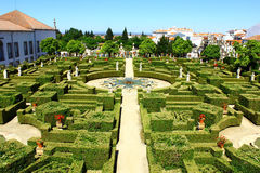 Garden, Castelo Branco, Portugal Royalty Free Stock Photo